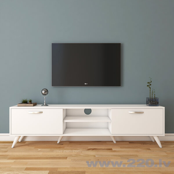TV galdiņš Kalune Design A9, balts lētāk