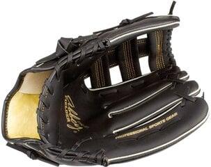 Бейсбольная перчатка Abbey 23H, черная цена и информация | Бейсбол | 220.lv