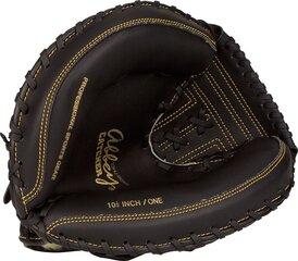 Beisbola cimds Abbey 23HU, melns cena un informācija | Beisbols | 220.lv