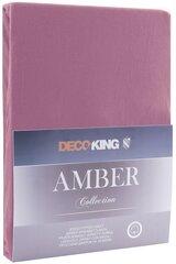 DecoKing Amber простыня на резинке 140x200 см цена и информация | DecoKing Amber простыня на резинке 140x200 см | 220.lv