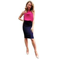 Violeta blūze ar akcentu uz muguras BRANCHESS cena un informācija | Blūzes, sieviešu krekli | 220.lv