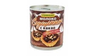 Iebiezinātais piens Steinhauer vārīts ar kakao 397g цена и информация | Молочные продукты | 220.lv
