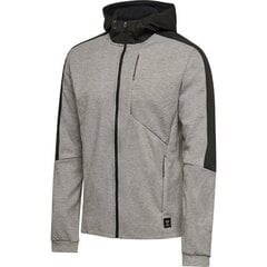 Pelēka vīriešu jaka Hummel Tropper Zip Hoodie cena un informācija | Pelēka vīriešu jaka Hummel Tropper Zip Hoodie | 220.lv