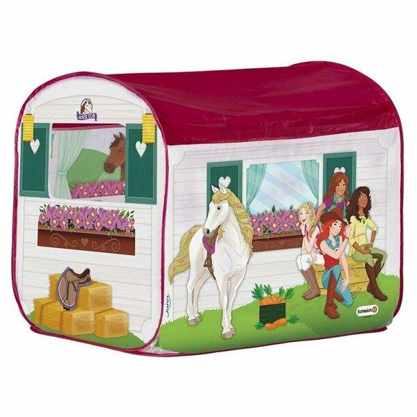 "Telts ""Stallis"" ar zirga figūriņu John Schleich atsauksme"