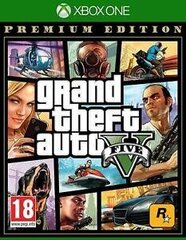 Xbox One Grand Theft Auto V Premium Edition cena un informācija | Xbox One Grand Theft Auto V Premium Edition | 220.lv