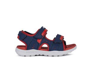 GEOX bērnu zilas sandales zēniem VANIETT BOY cena un informācija | Bērnu sandales | 220.lv