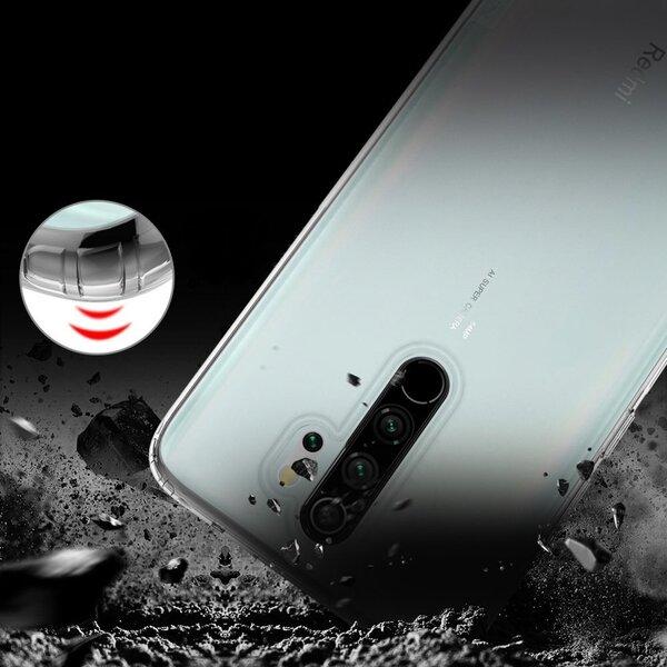 Nillkin TPU aizsargapvalks paredzēts Xiaomi Redmi Note 8 Pro, Caurspīdīgs