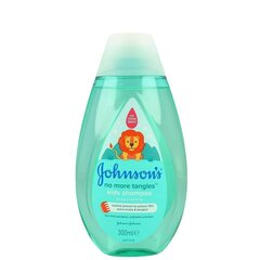 Matu šampūns Johnson's Baby No More Tangles 300 ml cena un informācija | Matu šampūns Johnson's Baby No More Tangles 300 ml | 220.lv