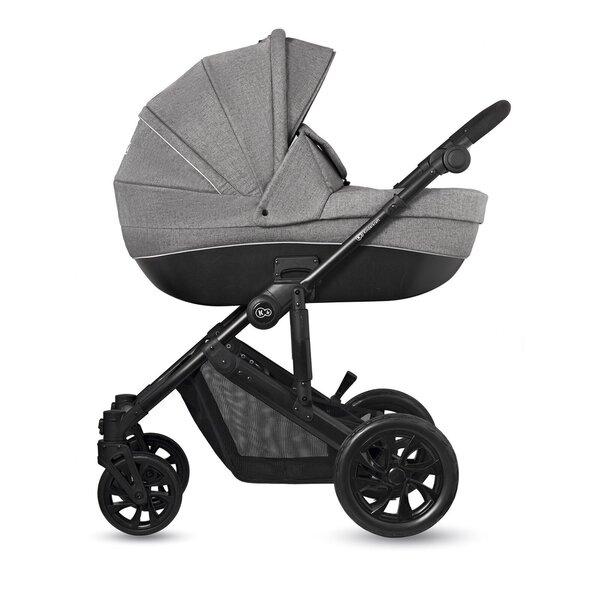Universālie rati Kinderkraft Prime Lite 3in1, gray cena