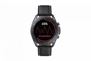 Viedais pulkstenis Samsung Galaxy Watch 3 (45 mm), Black cena un informācija | Viedpulksteņi (smartwatch) | 220.lv
