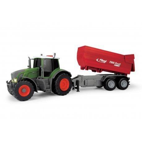 Игрушечный трактор с прицепом Simba Dickie Farm Fendt 939 Vario цена