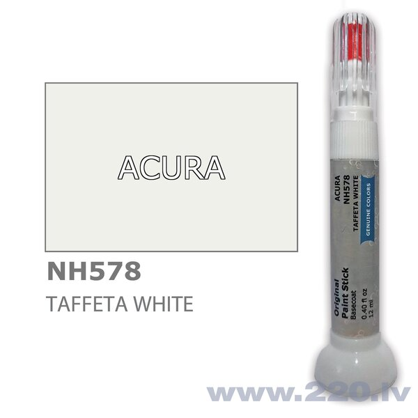 Krāsu korektors skrāpējumu korekcijai ACURA NH578 - TAFFETA WHITE 12 ml