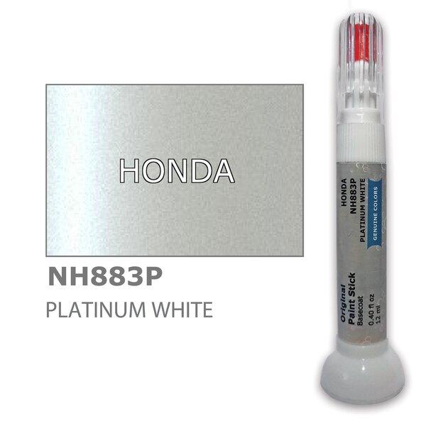 Krāsu korektors skrāpējumu korekcijai HONDA NH883P - PLATINUM WHITE 12 ml