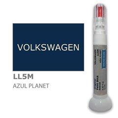 Krāsu korektors skrāpējumu korekcijai VOLKSWAGEN LL5M - AZUL PLANET 12 ml cena un informācija | Krāsu korektors skrāpējumu korekcijai VOLKSWAGEN LL5M - AZUL PLANET 12 ml | 220.lv