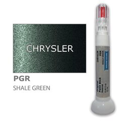 Krāsu korektors skrāpējumu korekcijai CHRYSLER PGR - SHALE GREEN 12 ml cena un informācija | Auto krāsas | 220.lv