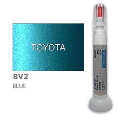Krāsu korektors skrāpējumu korekcijai TOYOTA 8V2 - BLUE 12 ml cena un informācija | Auto krāsas | 220.lv