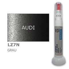 Krāsu korektors skrāpējumu korekcijai AUDI LZ7N - GRAU 12 ml cena un informācija | Auto krāsas | 220.lv