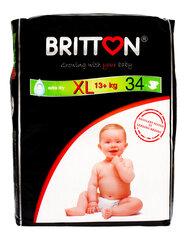 Autiņbiksītes BRITTON XL izmērs (13+ kg), 34 gab. cena un informācija | Autiņbiksītes | 220.lv