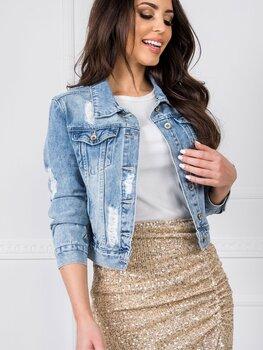 Sieviešu džinsa jaka-žakete Diane cena un informācija | Žaketes sievietēm | 220.lv