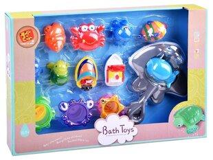 Krāsains vannas rotaļlietu komplekts cena un informācija | Rotaļlietas zīdaiņiem | 220.lv