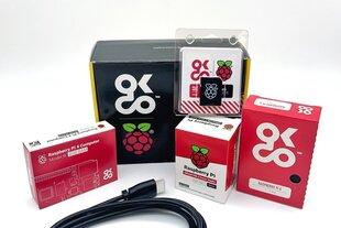 Okdo Raspberry Pi 4 4Gb Basic Kit EU Version цена и информация | Электроника с открытым исходным кодом | 220.lv