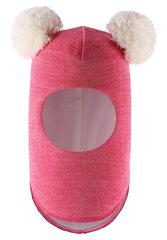 Lassie cepure-ķivere Balaclava Nerissa, pink, 7187894631 cena un informācija | Ziemas apģērbs bērniem | 220.lv