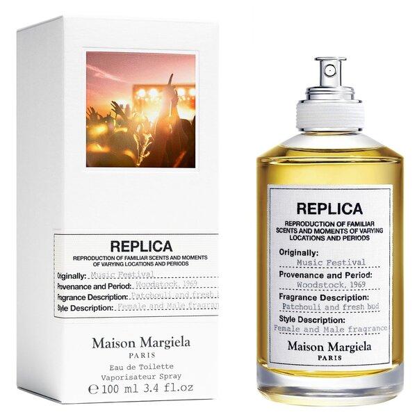 Tualetes ūdens Maison Margiela Replica Music Festival EDT sievietēm/vīriešiem 100 ml cena
