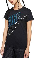 Nike Krekliņš WNsw Tee Prep Futura Black cena un informācija | T-krekli sievietēm | 220.lv