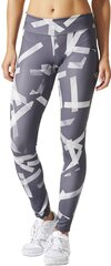 Adidas Legingi D2m Tights Long Printed Grey cena un informācija | Adidas Legingi D2m Tights Long Printed Grey | 220.lv