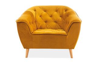 Krēsls Signal Meble Galaxy I, dzeltens cena un informācija | Atpūtas krēsli | 220.lv