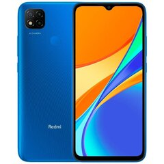 Xiaomi Redmi 9C, 64GB, Dual SIM, Twilight Blue цена и информация | Xiaomi Redmi 9C, 64GB, Dual SIM, Twilight Blue | 220.lv