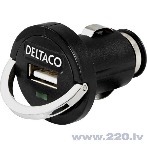 Deltaco USB-CAR20, USB, 2.1A