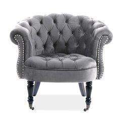 Krēsls Signal Meble Phillips, pelēks cena un informācija | Atpūtas krēsli | 220.lv