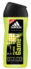 Dušas želeja Adidas Pure Game 250 ml