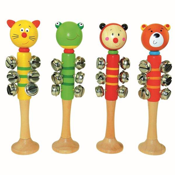 Nūjiņa ar zvaniņiem Bino Dzīvnieki cena un informācija | Rotaļlietas zīdaiņiem | 220.lv
