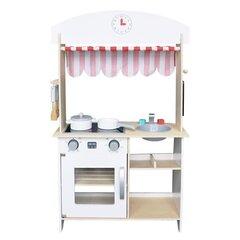 Koka virtuvīte - veikals ar aksesuāriem Ecotoys cena un informācija | Koka virtuvīte - veikals ar aksesuāriem Ecotoys | 220.lv