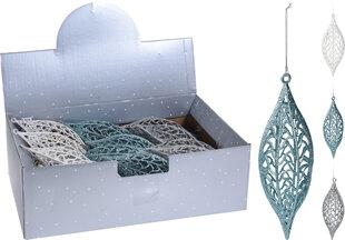 Ziemassvētku eglītes rotājums, plastmasas, 1 gab. cena un informācija | Eglīšu rotājumi | 220.lv