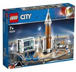60228 LEGO® City Space Port Ракета дальнего космоса и центр запуска цена и информация | Игрушки для мальчиков | 220.lv