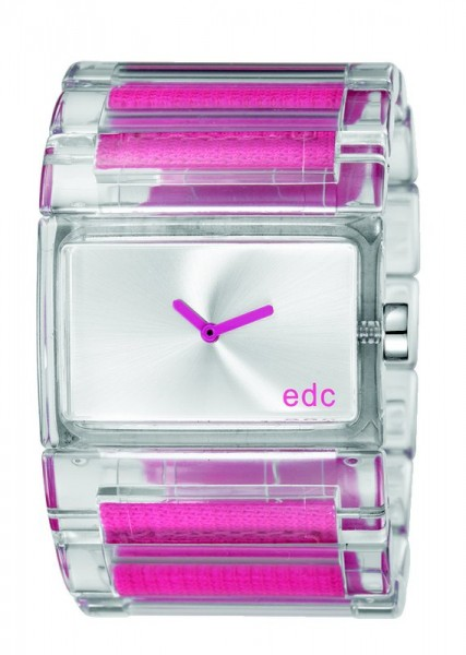 Pulkstenis edc by esprit Flashy Crossover Hot Pink