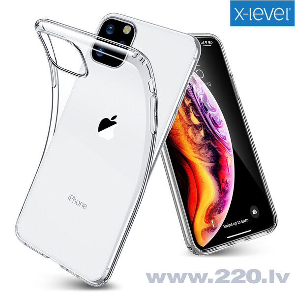 Case X-Level Antislip/O2 Huawei Mate 20 Pro clear