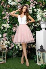 Eleganta, īsa kleita ar tilla svārkiem cena un informācija | Kleitas | 220.lv