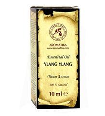 Ylang Ylang Aromātiskas Kanangas ēteriskā eļļa Aromatika, 10 ml cena un informācija | Ēteriskās eļļas, kosmētiskās eļļas, hidrolāti | 220.lv