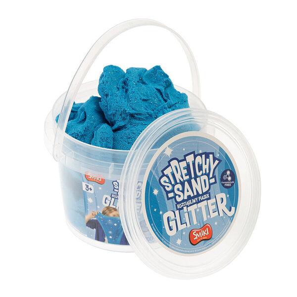 Smiki kinētiskās smiltis, tumši zilas