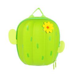 Bērnu mugursoma Kaktuss, zaļš cena un informācija | Skolas somas | 220.lv