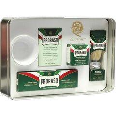 Klasisks skūšanās komplekts vīriešiem Proraso Classic Shaving Set cena un informācija | Klasisks skūšanās komplekts vīriešiem Proraso Classic Shaving Set | 220.lv
