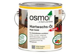 Cietā vaska eļļa Osmo Hartwachs-Öl Rapid 3262, matēta, 0,75 L cena un informācija | Impregnanti, kopšanas līdzekļi | 220.lv