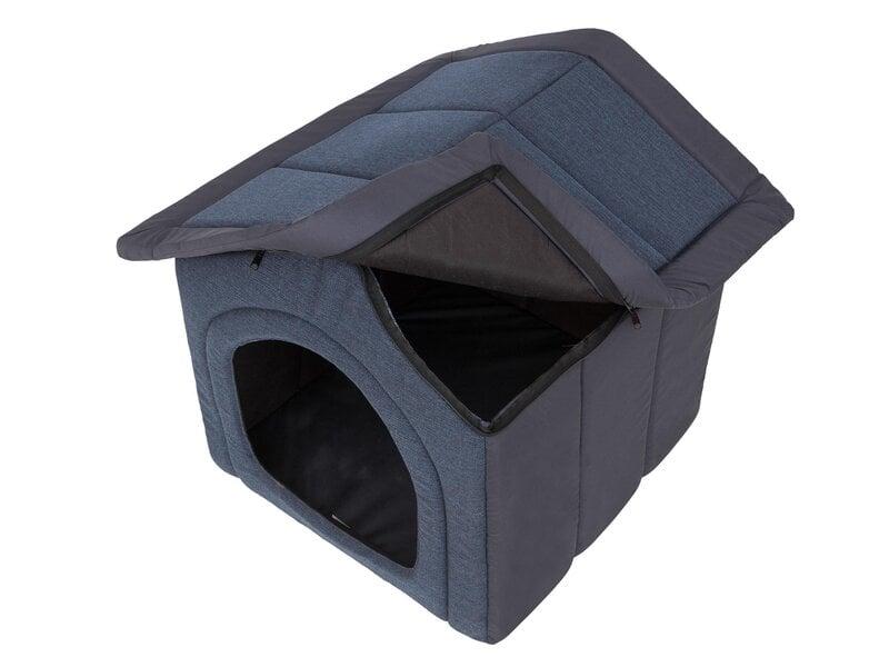Guļvieta-būda Hobbydog Inari Dark Blue, 60x55 cm atsauksme