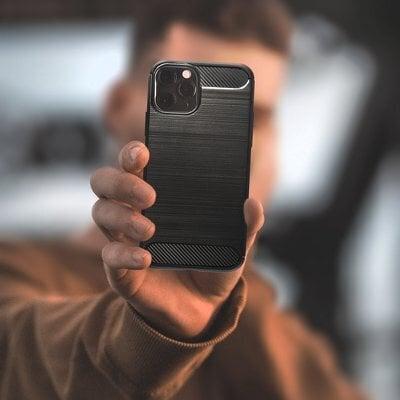 Vāciņš priekš Samsung Galaxy S20 FE, Carbon protect