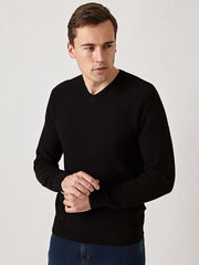 Monton džemperis vīriešiem, melns cena un informācija | Vīriešu džemperi | 220.lv