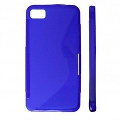 KLT Back Case S-Line Nokia 309 Asha gumijas/plastikāta telefona apvalks Zils cena un informācija | KLT Back Case S-Line Nokia 309 Asha gumijas/plastikāta telefona apvalks Zils | 220.lv
